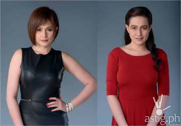 Bea Alonzo as Emmanuelle Romero (left) and Rose Buenavista (right)