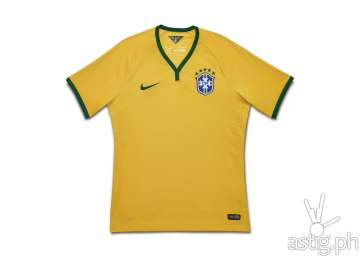 Brasil FIFA 2014 jersey uniform by Nike