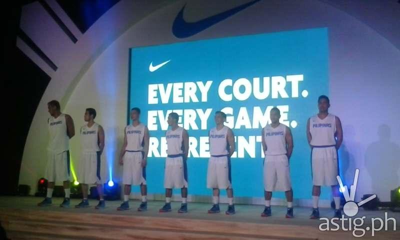 Gilas Pilipinas 2014 team photo