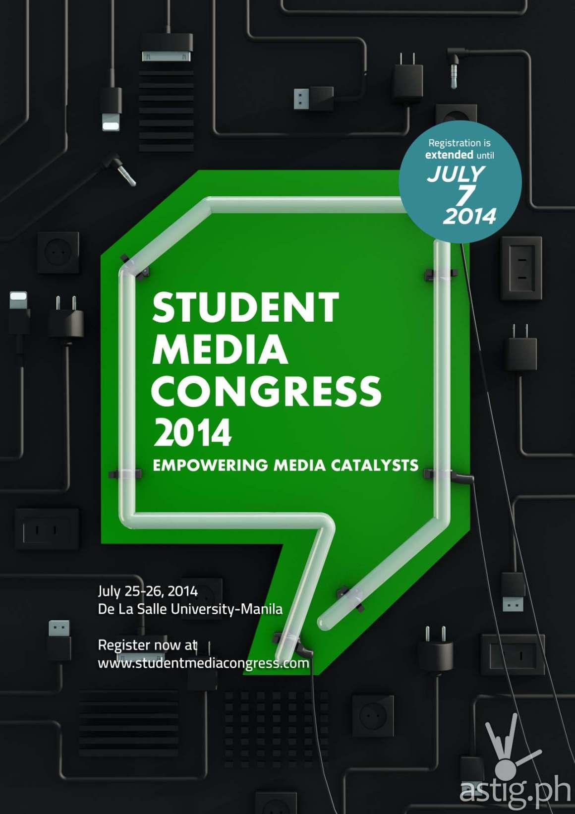 Student Media Congress 2014 poster