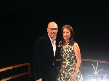 Boy Abunda and Gina Lopez