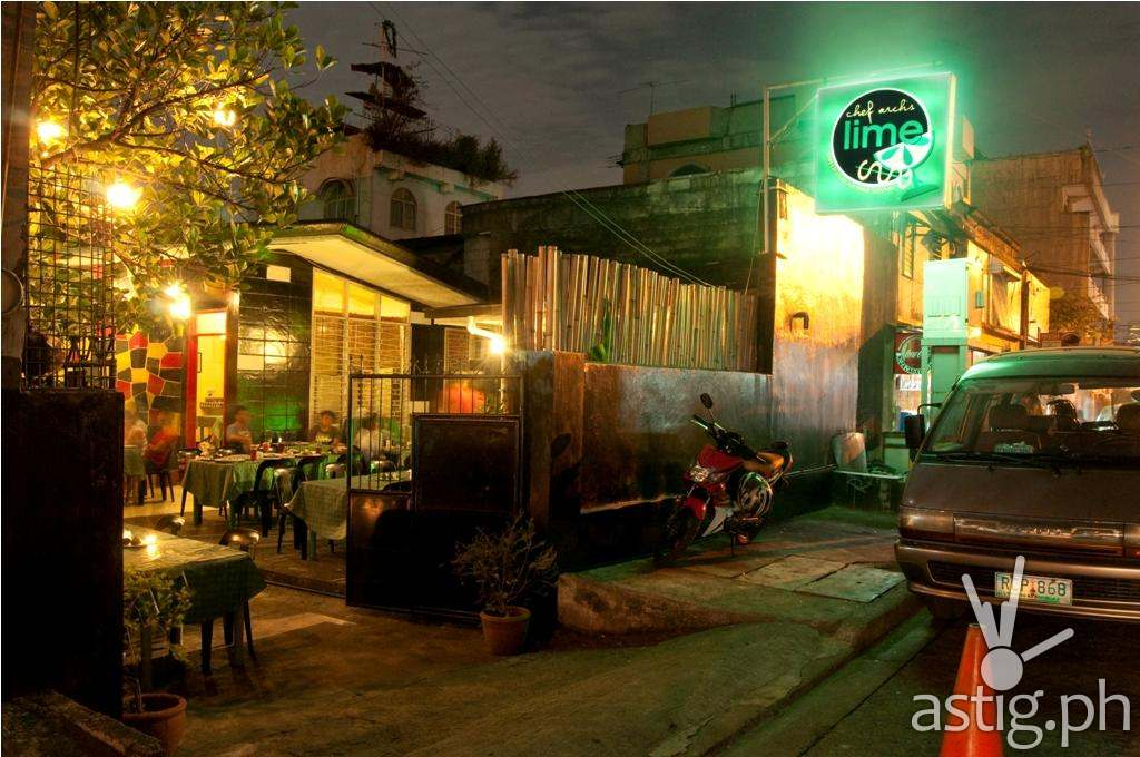 Chef Arch's LIME can be found in San Rafael Street, Barangay Plainview, Mandaluyong City