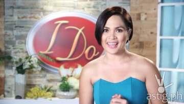 Judy Ann Santos-Agoncillo I Do host