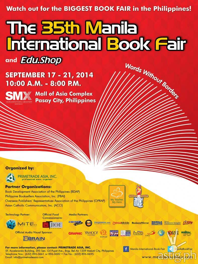 35th Manila International Book Fair MIBF Poster