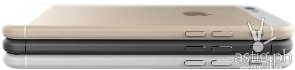 Apple iPhone 6 comes in three colors: white, black, and gold