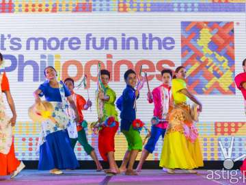 Cultural presentation at Visit the Philippines (VPY) 2015