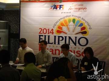 AFFI 2014 press conference