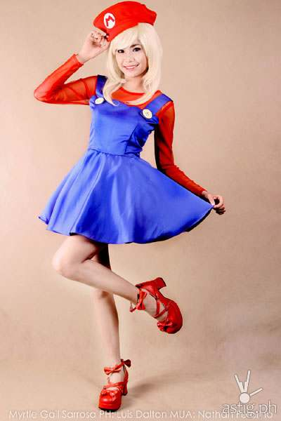 Myrtle Sarrosa as Super Mario