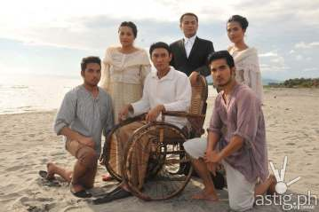 Ang Hling Lagda ni Apolinario Mabini: Students Ralph Oliva and Chase Salazar join the cast as Prudencio Mabini and Salud