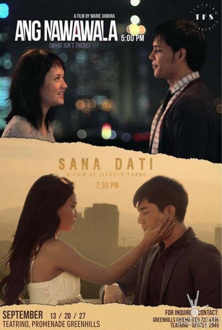 Sana Dati and Ang Nawawala shown at the Teatrino  Film Series poster