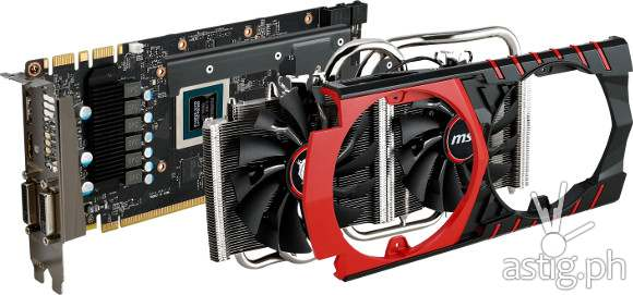 MSI Twin Frozr V thermal design
