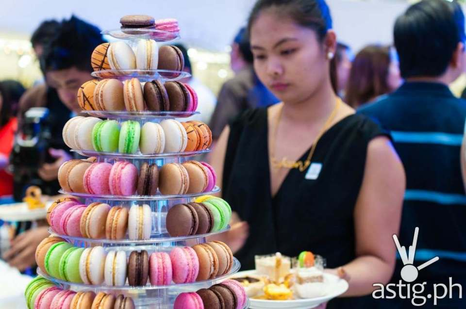 Guests were treated with an overflowing buffet of food at the 25th anniversary celebration of The French Baker at the newly opened SM Megamall Fashion Hall