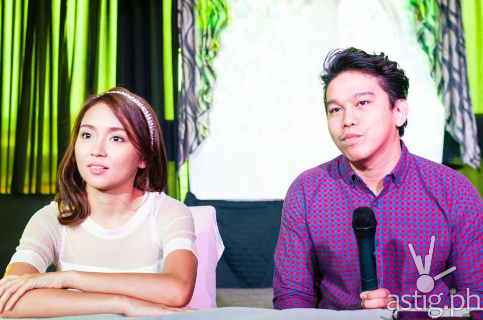 Kathryn Bernardo and Rox Santos