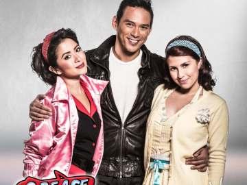 Danny, Sandy & Rizzo (Guji Lorenzana, Tippy Dos Santos & Antoinette Taus) photo