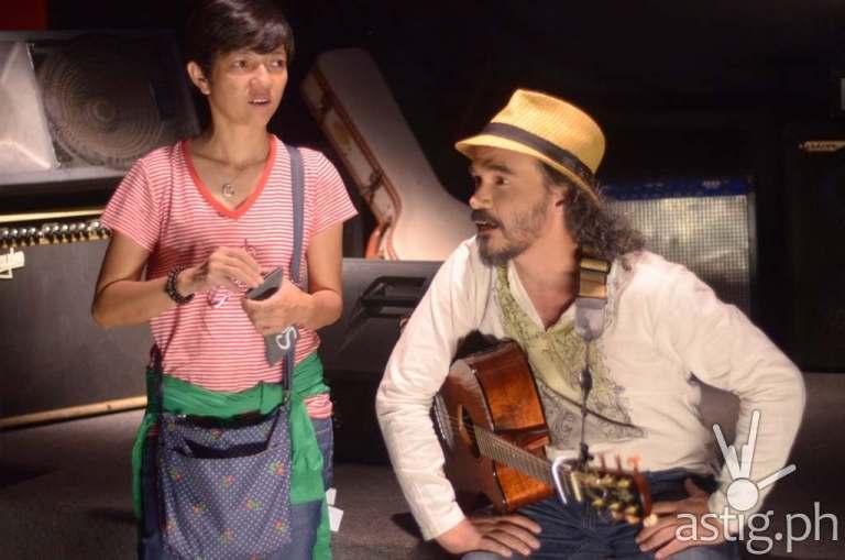 Darryl Shy with 'Ang Pag-ibig Kong Ito' filmeo director Bb Joyce Bernal