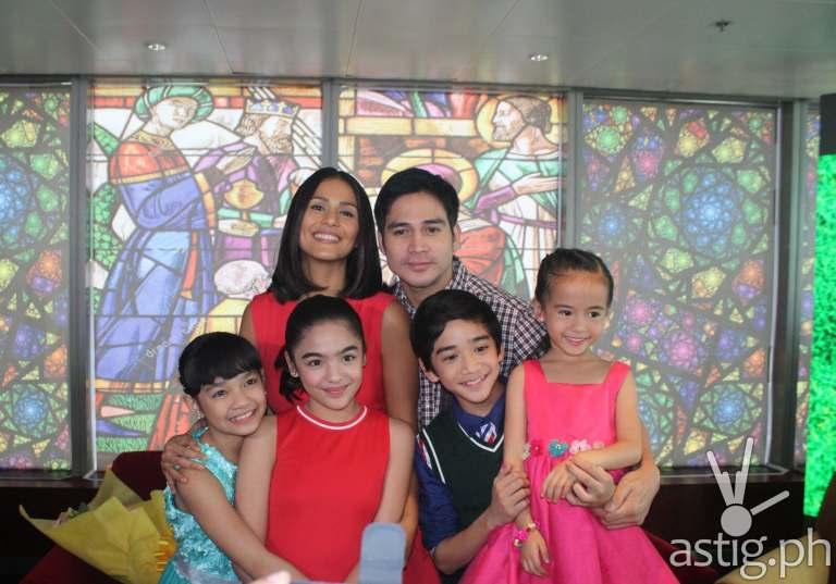 """""""Hawak Kamay"""" stars Piolo Pascual, Iza Calzado, Zaijan Jaranilla, Xyriel Manabat, Andrea Brillantes and Yesha Camille"""