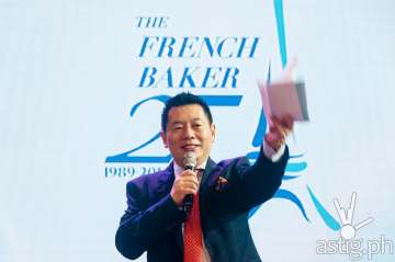 Johnlu G. Koa founder and CEO of The French Baker
