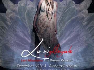LA NIGHTINGALE: Lani Misalucha The Return Concert