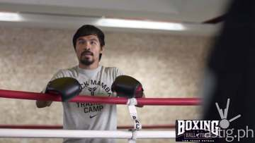 Manny Pacquiao vs Floyd Mayweather Foot Locker commercial