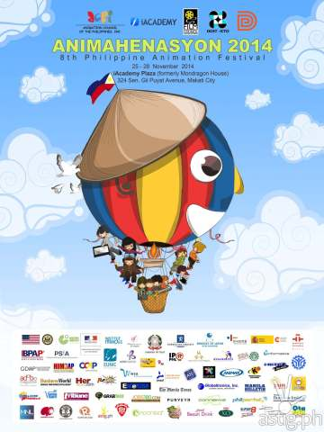 Official Animahenasyon 2014 Poster