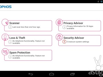 Sophos antivirus for Android