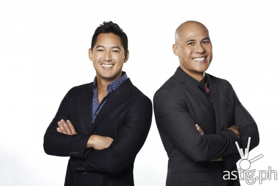 Marc Nelson and Rovilson Fernandez are the new hosts for Asia's Got Talent
