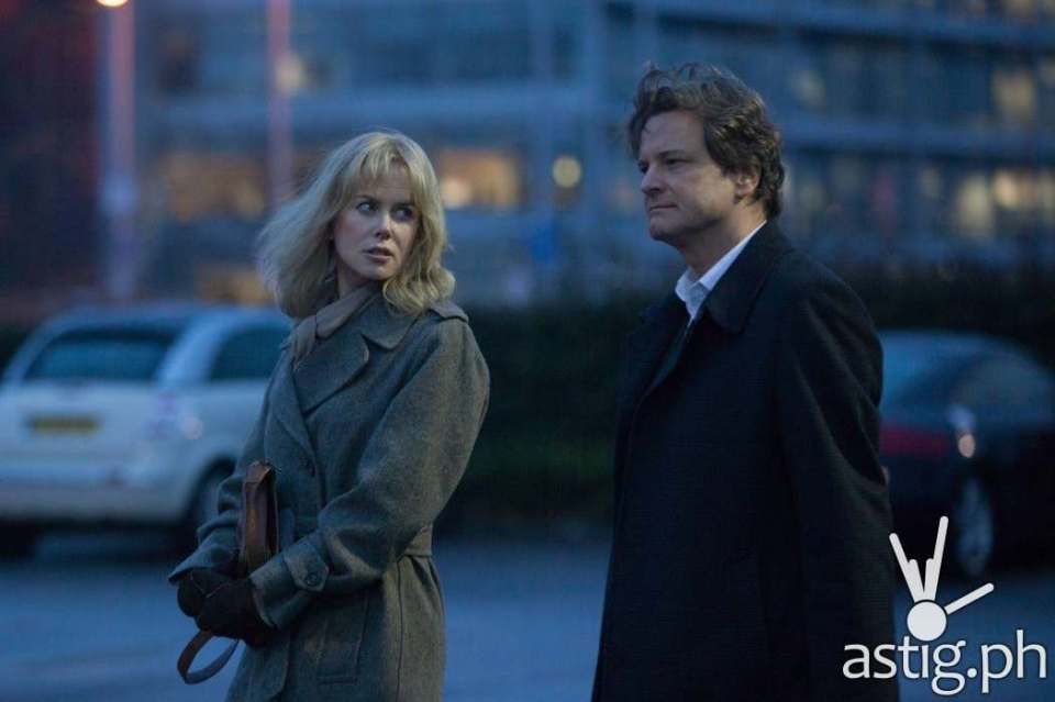 Nicole Kidman and Colin Firth in Before I Go To Sleep