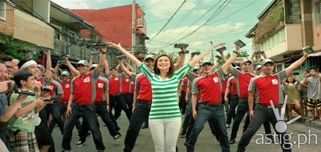 Sarah Geronimo in ABS-CBN TVplus commercial