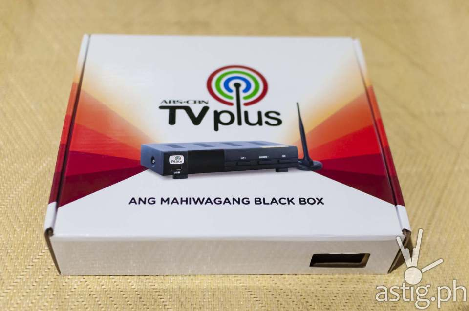 ABS-CBN TVplus generation 2 (front)