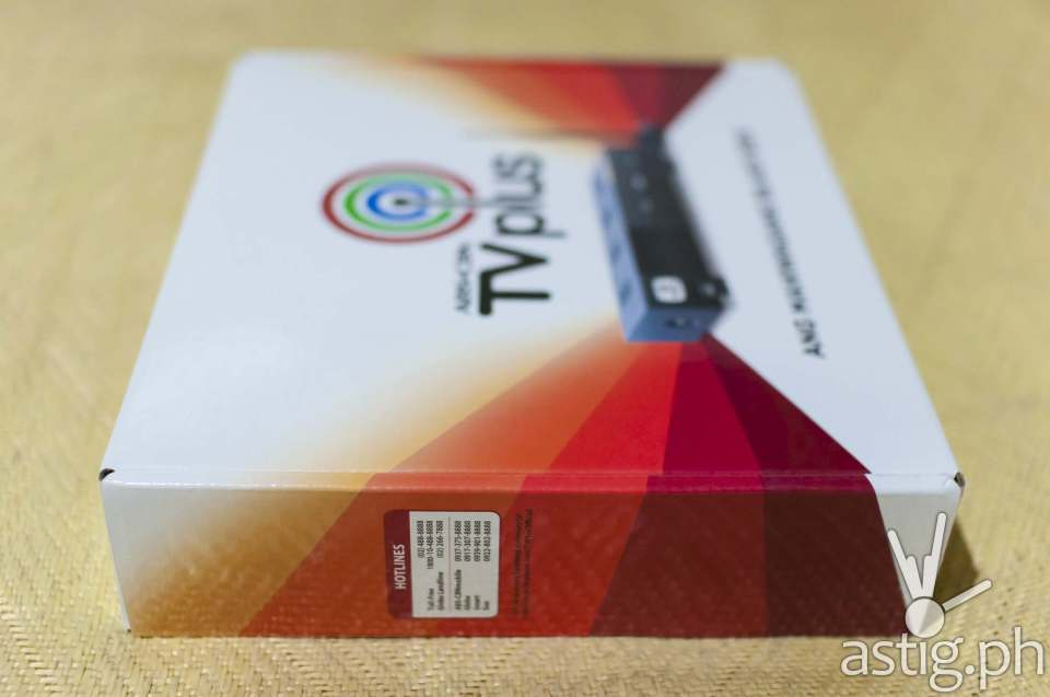 ABS-CBN TVplus generation 2 (side)