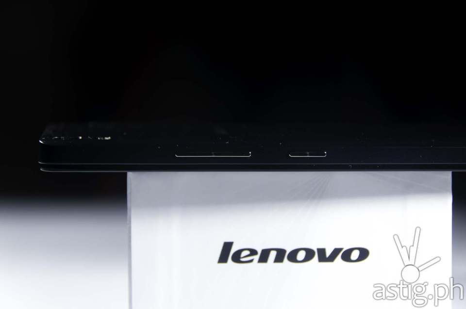 The Lenovo A7000 is razor-thin at only 8mm thick