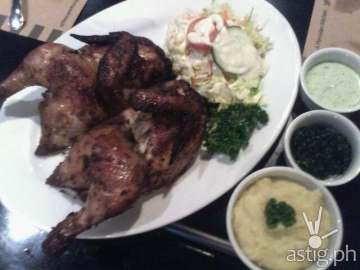 Peruvian Roasted Chicken at Don Andres Peruvian Kitchen