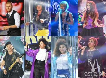 Jay-R as Justin Timberlake, EA as Victor Wood, Tutti as Jon Bon Jovi, Maxene as Selena Gomez, Nyoy as