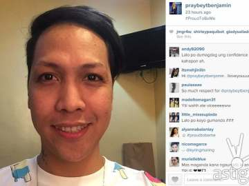 Vice Ganda posts a photo of himself without makeup on Instagram, inspiring netizens to post photos of