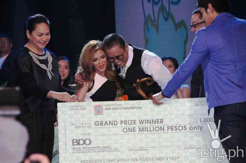 'Mahal Ko O Mahal Ako' composed by Edwin Marollano and interpreted by KZ Tandingan emerged grand prize winner at the Himig Handog Pinoy Pop Love Songs 2014