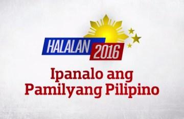 HALALAN 2016 Ipanalo ang Pamilyang Pilipino logo