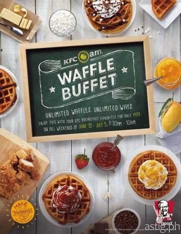 KFC A.M. Waffle Buffet