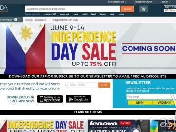 Lazada Independence Day Sale