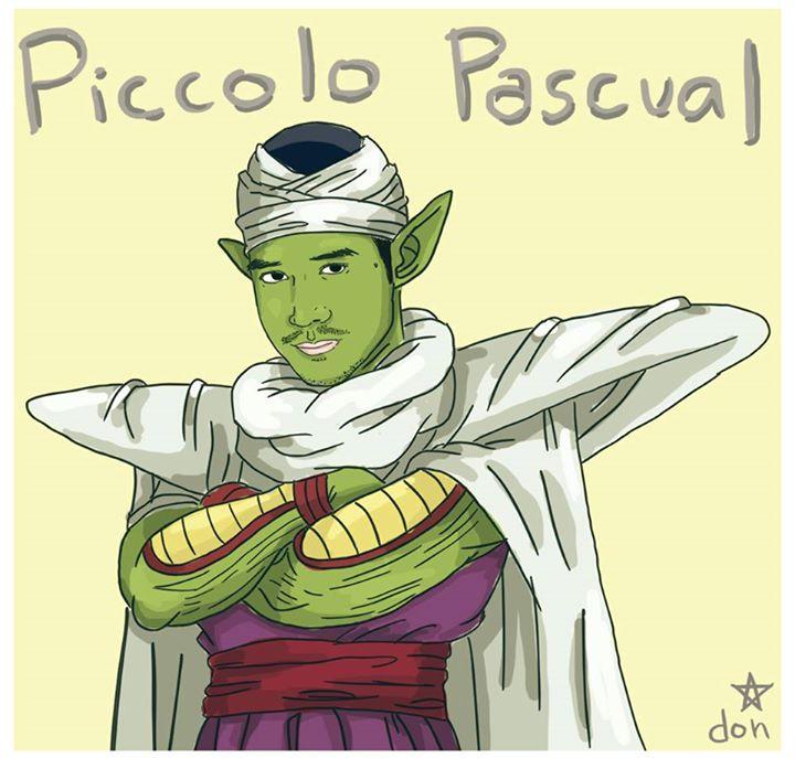 """Piolo Pascual as """"Piccolo Pascual"""" (Piccolo)"""