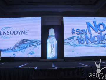 The New Sensodyne Mouthwash