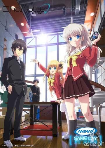Charlotte anime on Animax Asia