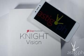 Starmobile Knight Vision Android smartphone + digital telelvision