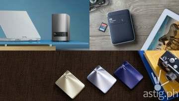 WD external storage drive
