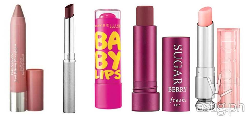 Trade in your heavy duty lipsticks for lip stains and tinted balms (photo: elementsoffakery.wordpress.com)