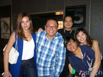Bea Alonzo, Leo Katigbak, John Lloyd Cruz, Cathy Garcia Molina and Bea Saw