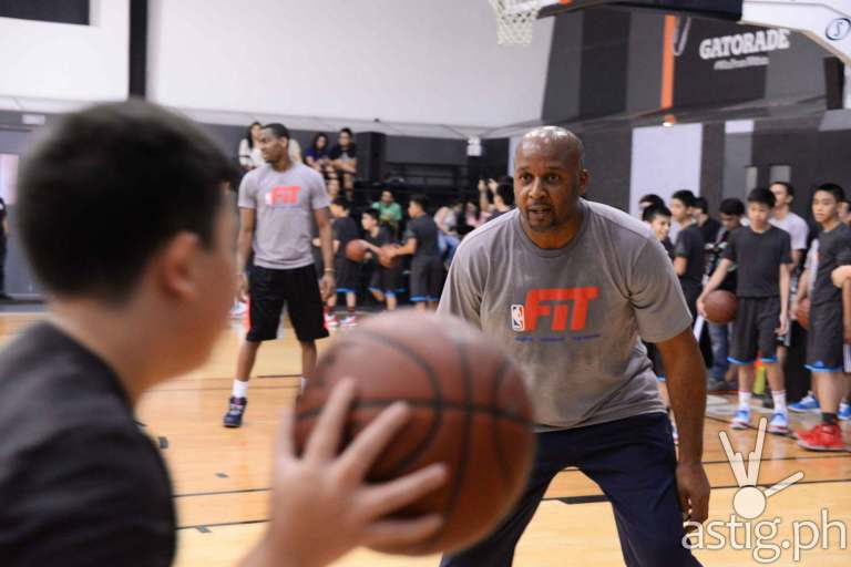 Partnering with NBA FIT, adidas Nations aims to develop the rich basketball talent in the country by giving young basketball players aged 13 years old and below a chance to participate in a basketball training camp