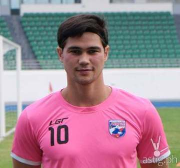 Phil Younghusband of the Philippine Azkals