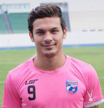 Misagh Bahadoran of the Philippine Azkals