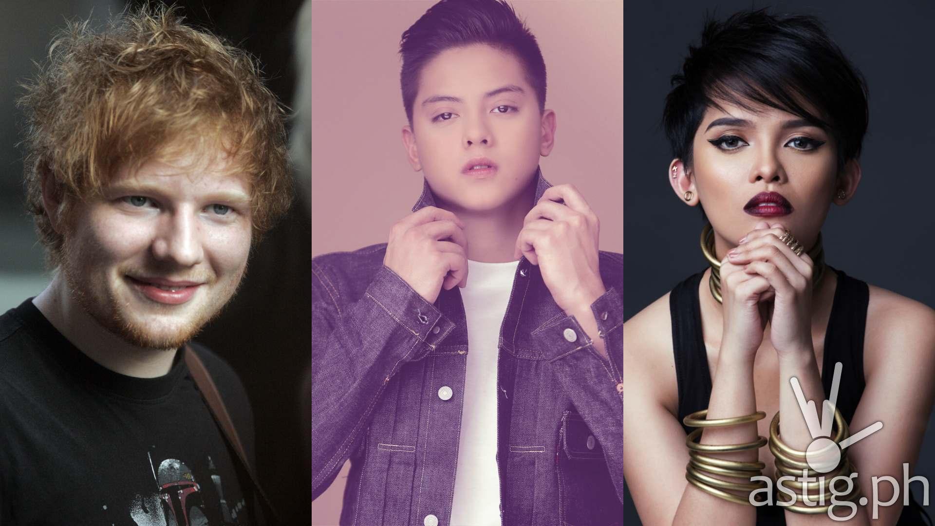 25 top spotify artists under 25: ed sheeran, daniel padilla, kz