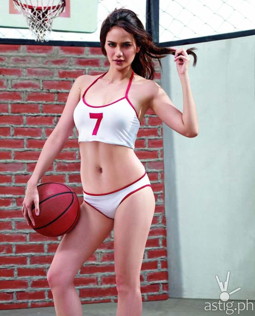 Arci Munoz 2016 calendar GSM basketball